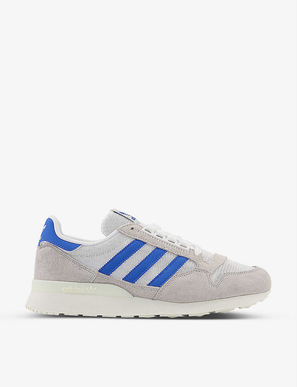 ADIDAS: ZX 500 RM suede and mesh trainers