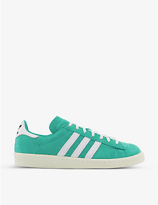 ADIDAS: Campus 80s suede trainers