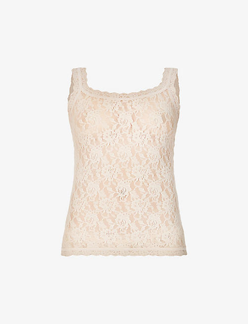 HANKY PANKY: Signature lace top
