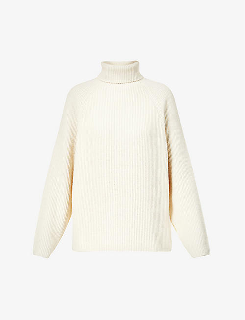 GABRIELA HEARST: Wigman turtleneck recycled cashmere jumper