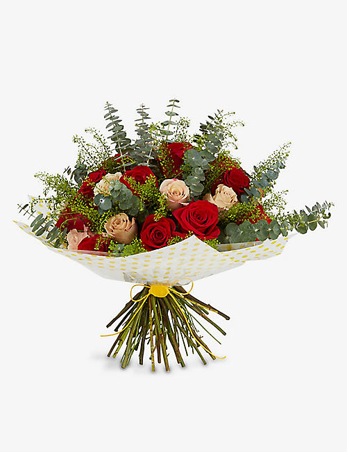 SELFRIDGES SELECTION: English Garden medium bouquet