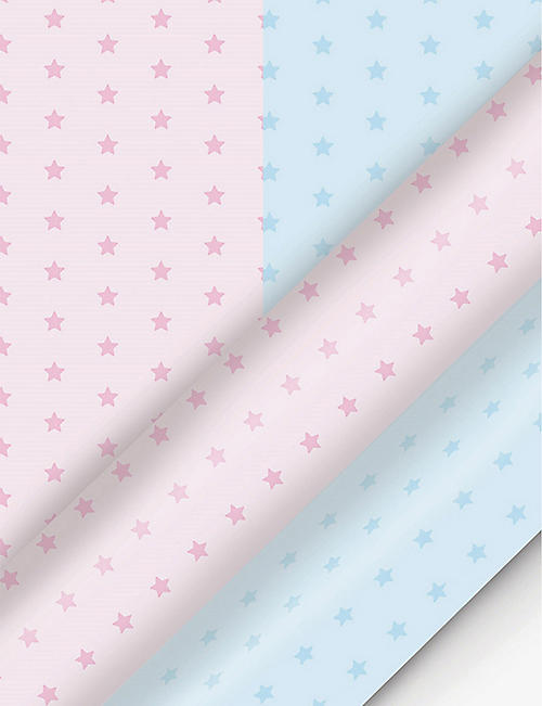 DEVA DESIGNS: Baby Stars wrapping paper 3m