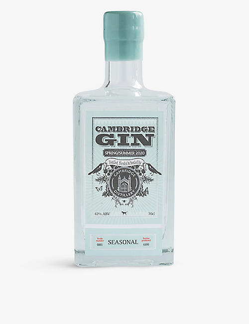 CAMBRIDGE GIN: Seasonal Spring/Summer 2020 gin 700ml