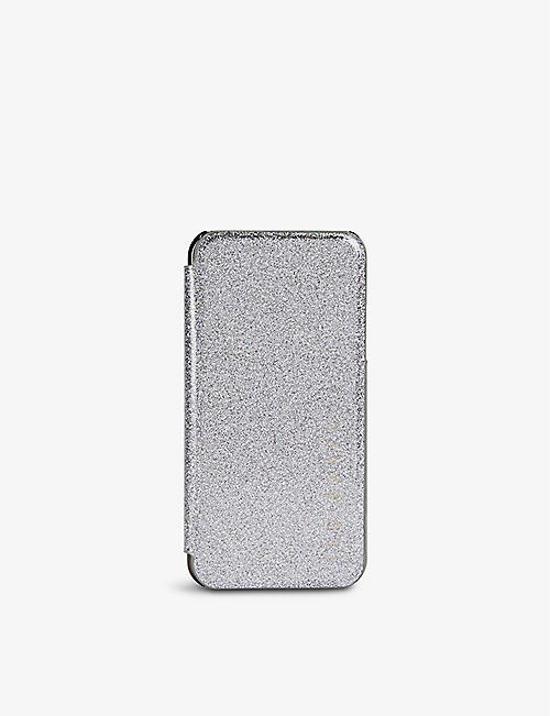 TED BAKER: Rico glitter-embossed iPhone X/XS case