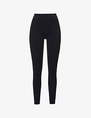 FALKE ERGONOMIC SPORT SYSTEM: Maximum Warm high-rise stretch-woven leggings