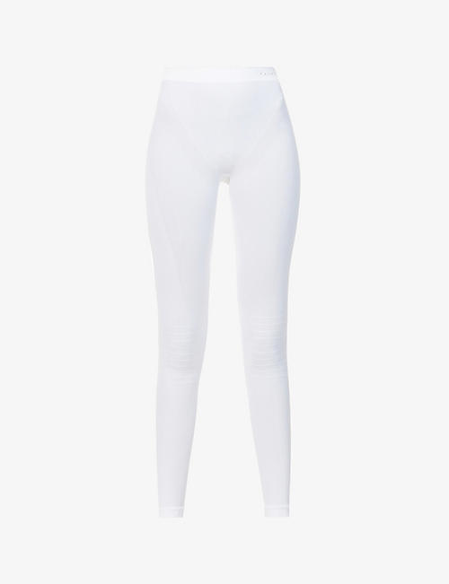 FALKE ERGONOMIC SPORT SYSTEM: Warm high-rise stretch-woven leggings