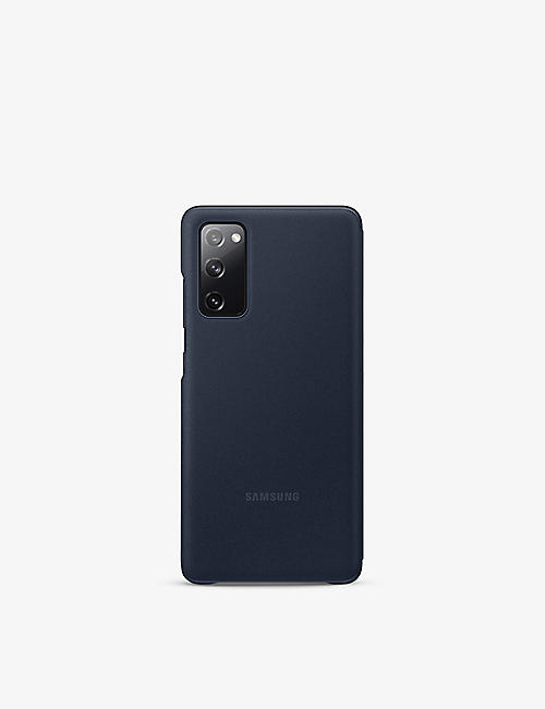 SAMSUNG: Galaxy S20 FE Clear View Cover Navy
