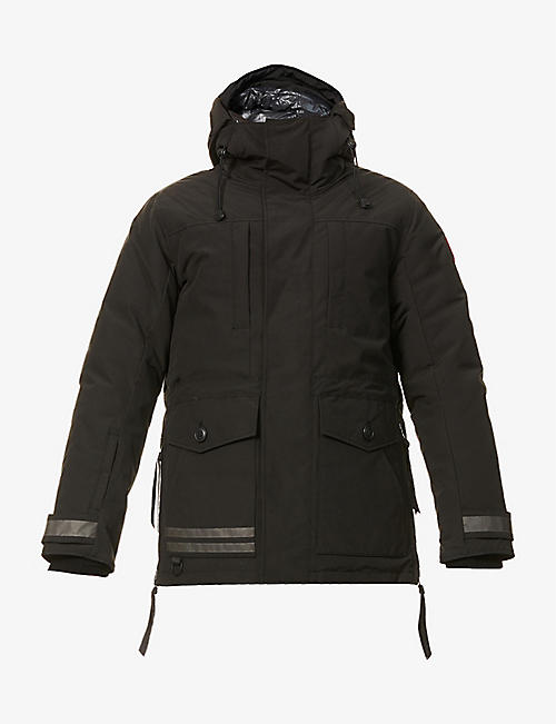 CANADA GOOSE: Toronto padded hooded woven-down jacket