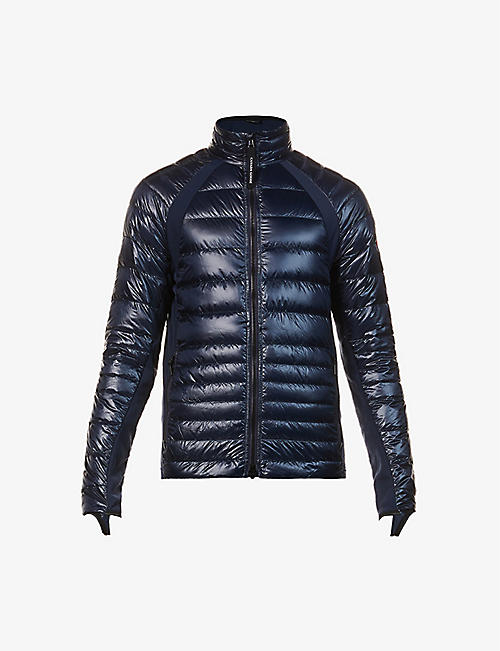 CANADA GOOSE: Hybridge Lite quilted shell-down jacket