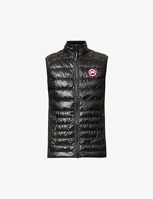 CANADA GOOSE: Hybridge Lite funnel-neck shell-down gilet