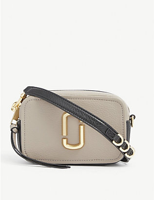 MARC JACOBS: Softshot 17 mini leather cross-body bag