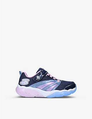 SKECHERS:S-Lights Fusion Flash 发光运动鞋 2-5 岁