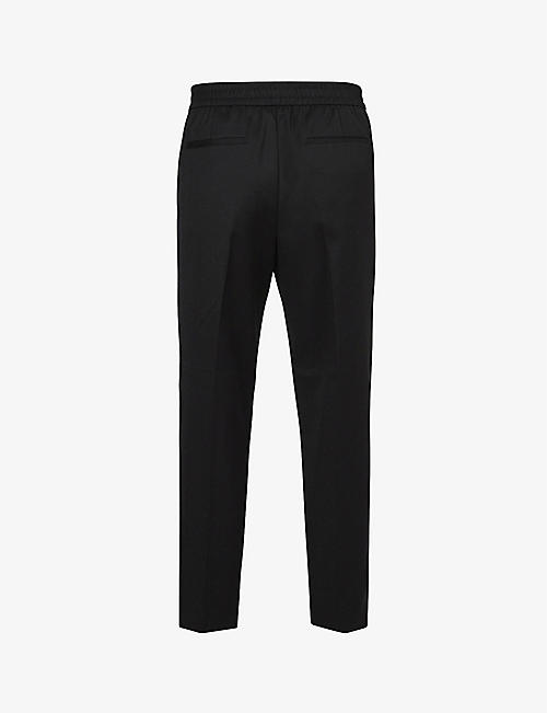 ALLSAINTS: Branfield zip-detail woven trousers