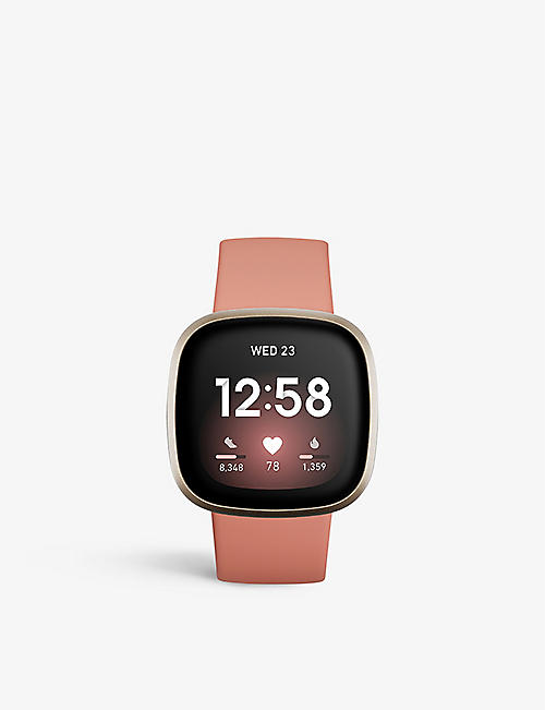 FOCAL: Versa 3 Health and Fitness Smartwatch