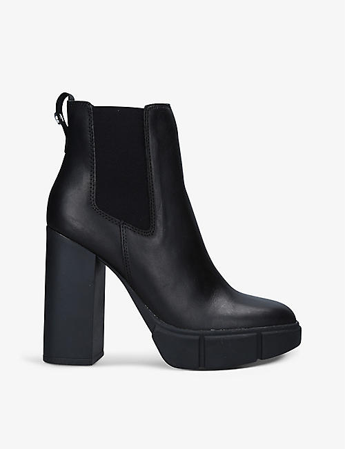 STEVE MADDEN: Revised leather ankle boots
