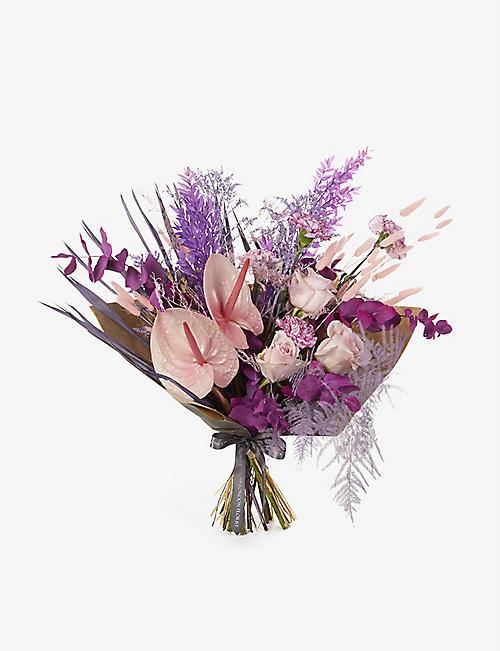 YOUR LONDON FLORIST: Exclusive Fairy Floss mixed dried and fresh bouquet