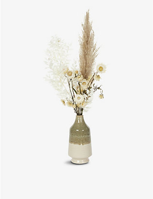 YOUR LONDON FLORIST: Exclusive Autumn Vase dried flowers with vase