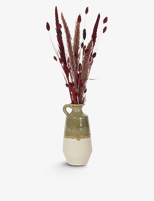 YOUR LONDON FLORIST: Exclusive Autumn Jug dried flowers with vase