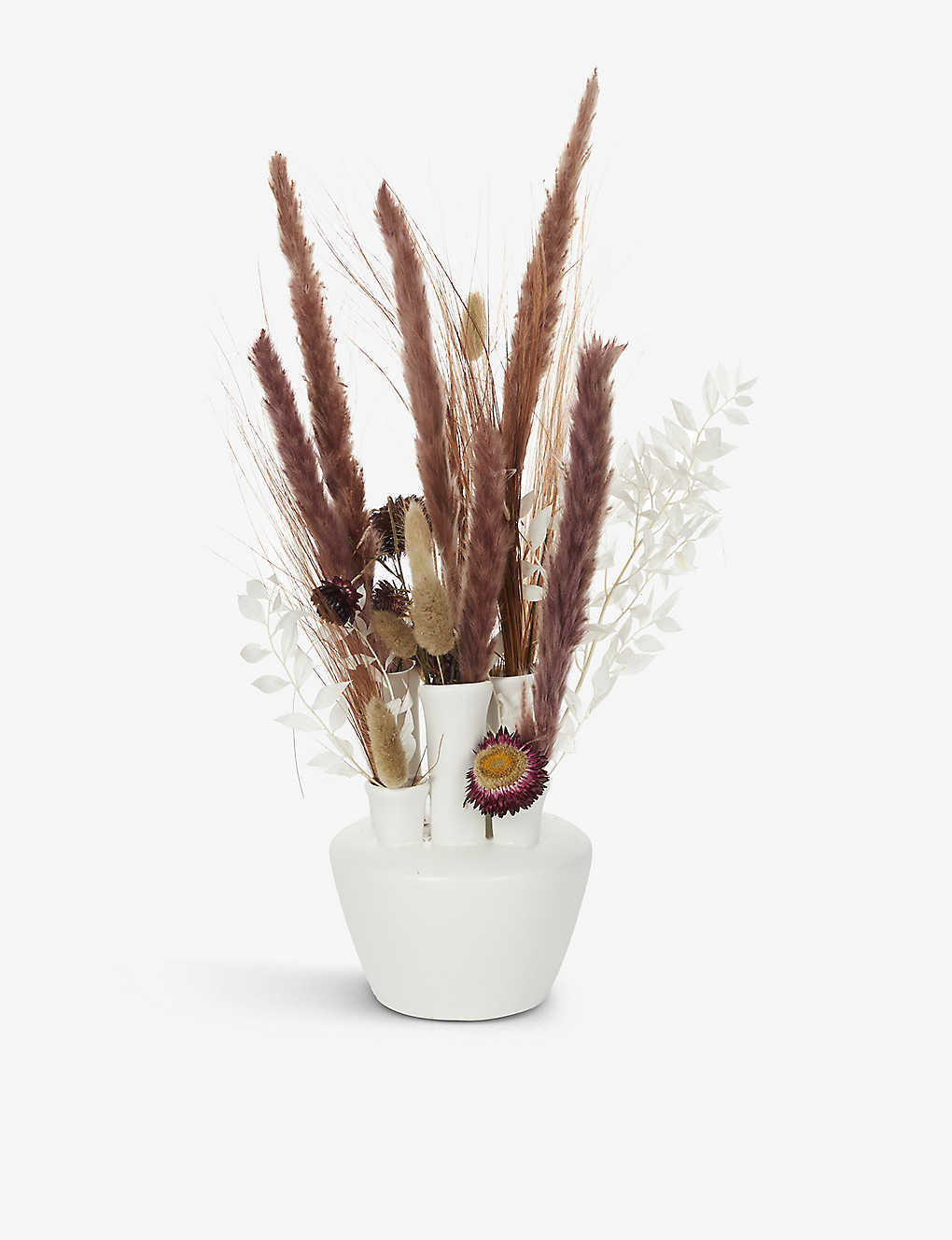 YOUR LONDON FLORIST: Exclusive Tube Arrangement dried flowers with vase
