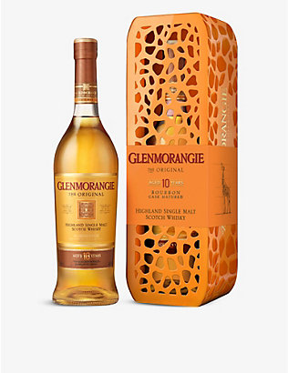GLENMORANGIE: Giraffe Tin 10-year-old whisky 700ml