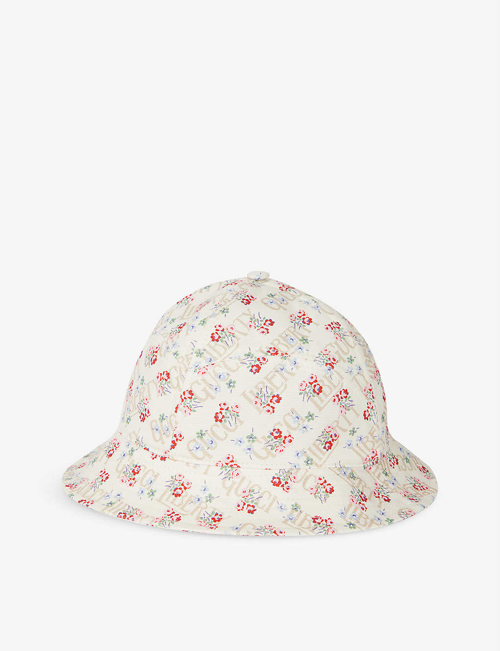 GUCCI: Gucci x Liberty Rose floral-print cotton bucket hat