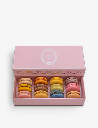 LADUREE: Bucolique macarons box of 12