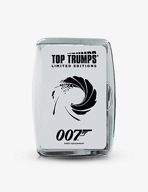 WINNING MOVES:Top Trumps James Bond 007 卡片游戏