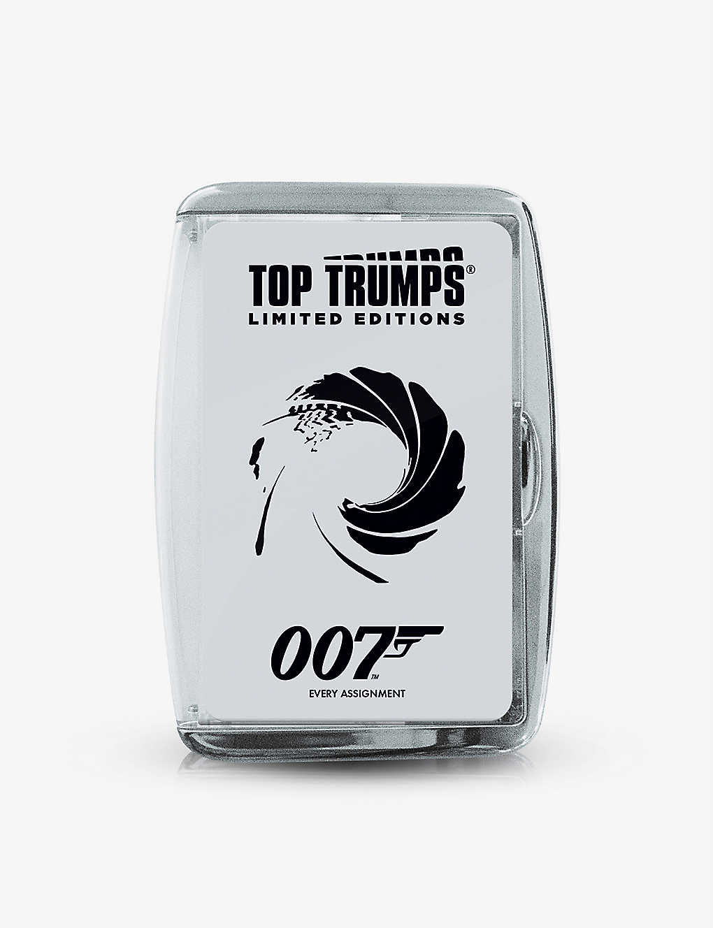 WINNING MOVES: Top Trumps James Bond 007 card game