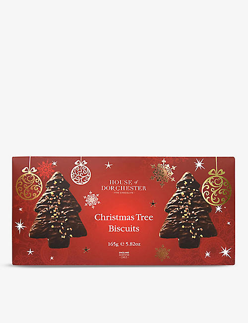 HOUSE OF DORCHESTER: Hod Christmas Tree Biscuits 165g