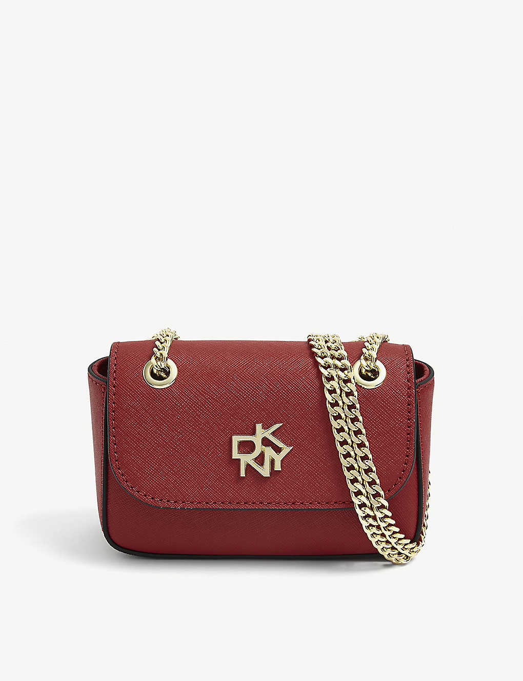 DKNY: Mini chain-strap cross-body bag