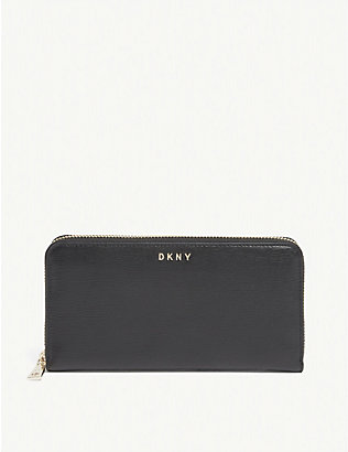 DKNY: Bryant leather wallet