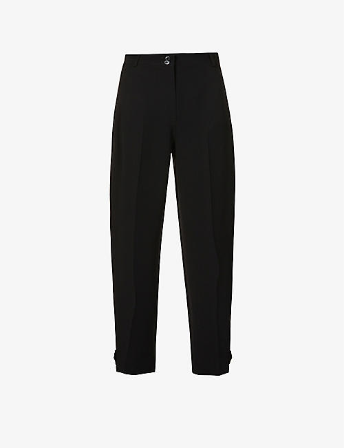WHISTLES: Paula mid-rise woven trousers