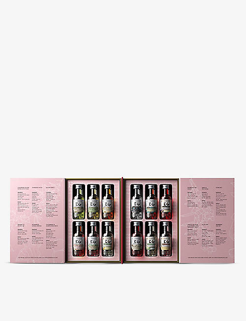 GIN: Edinburgh Gin Liqueur Library Collection 12x50ml