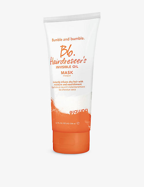 BUMBLE & BUMBLE: Hairdresser's Invisible Oil mask 200ml