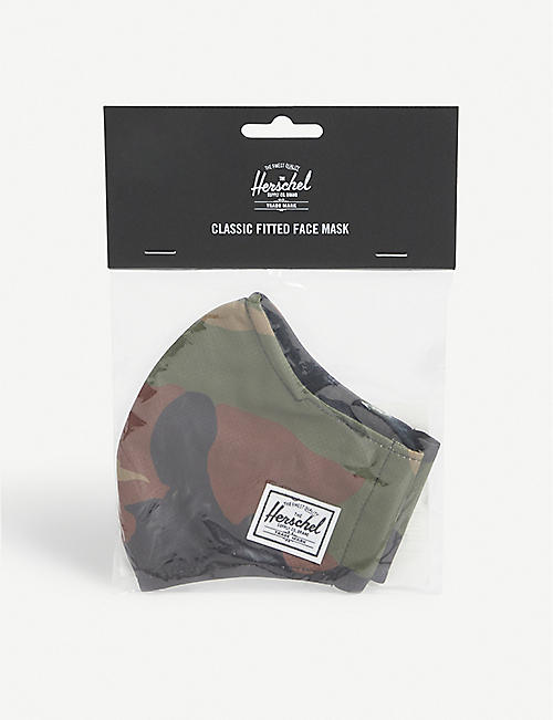 HERSCHEL SUPPLY CO: Classic Fitted camo-print face covering