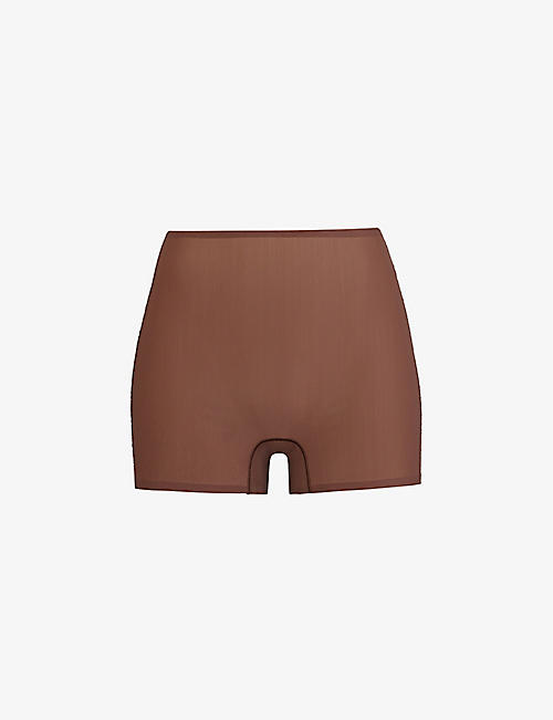 SKIMS: Naked high-rise stretch-woven shorts