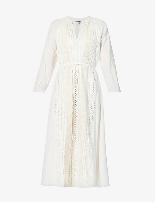 WHISTLES: Embroidered cotton dress
