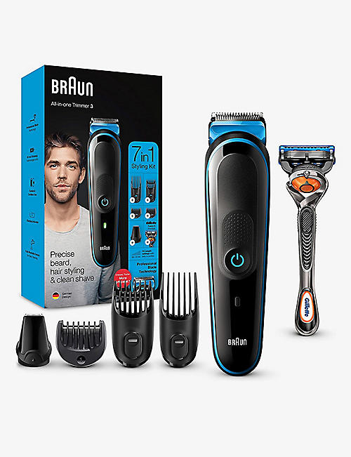 BRAUN: 7-in-1 Trimmer 3 grooming kit