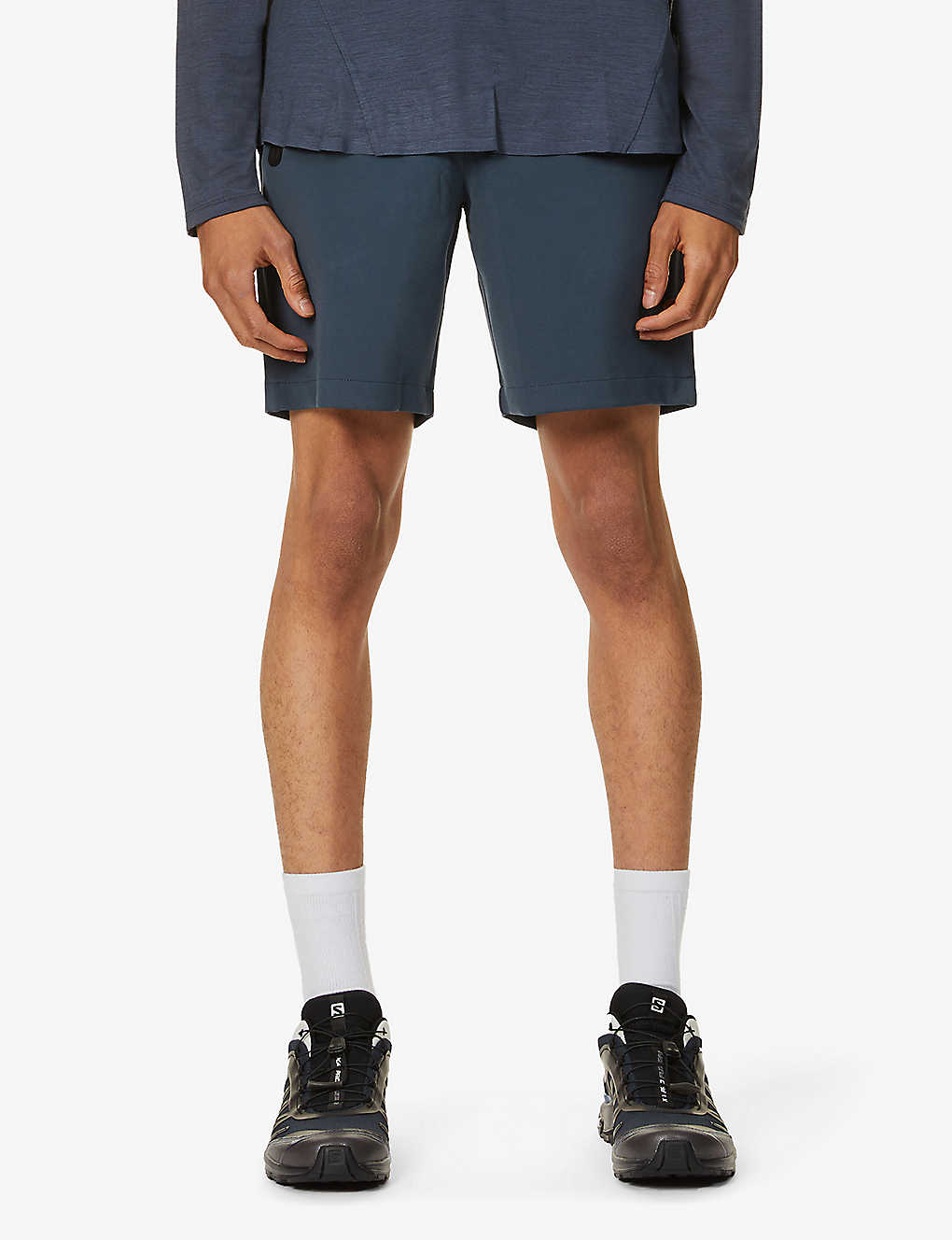 ORLEBAR BROWN: Blundell graphic-print relaxed-fit shell shorts