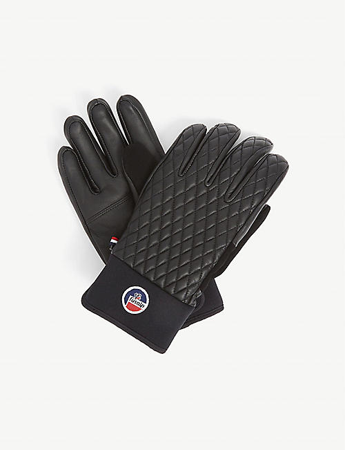 FUSALP: Athena quilted leather gloves