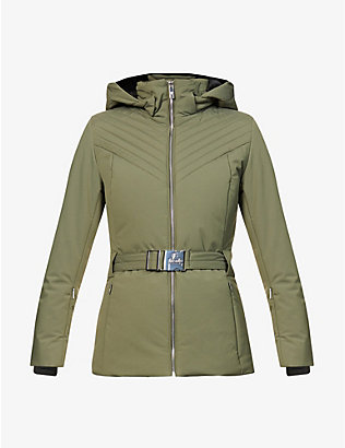 FUSALP: Nanssil hooded shell jacket