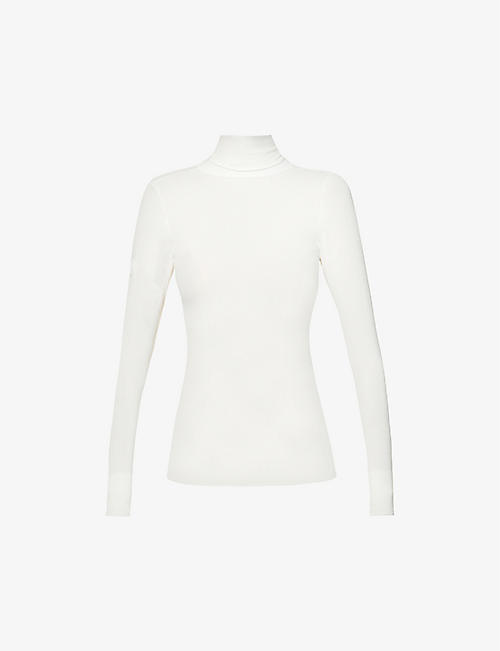 FUSALP: Alisier fitted stretch-knit top