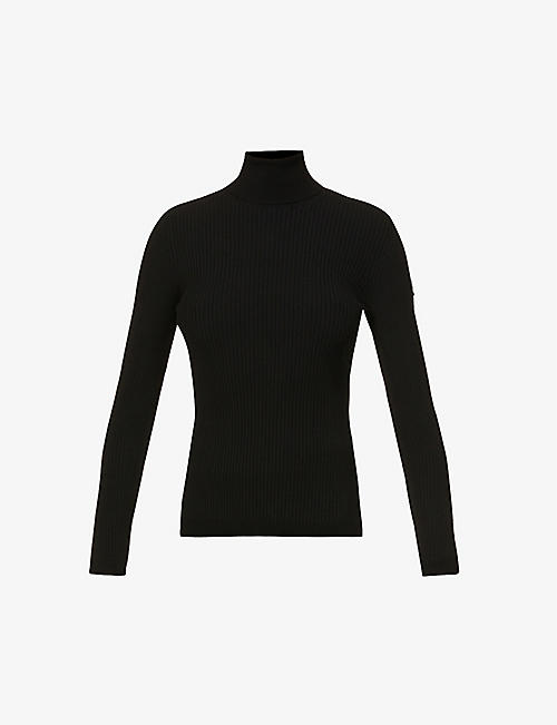 FUSALP: Ancelle fitted knitted jumper