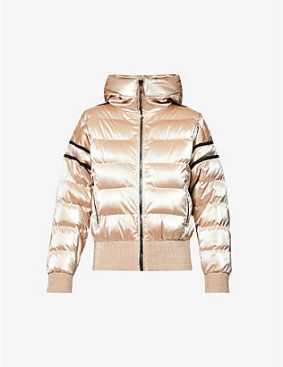 FUSALP: Abby padded funnel-neck shell jacket