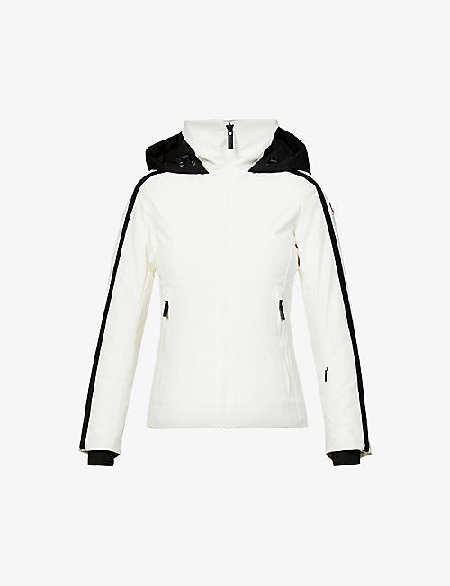 FUSALP: Sidonie funnel-neck stretch-shell jacket