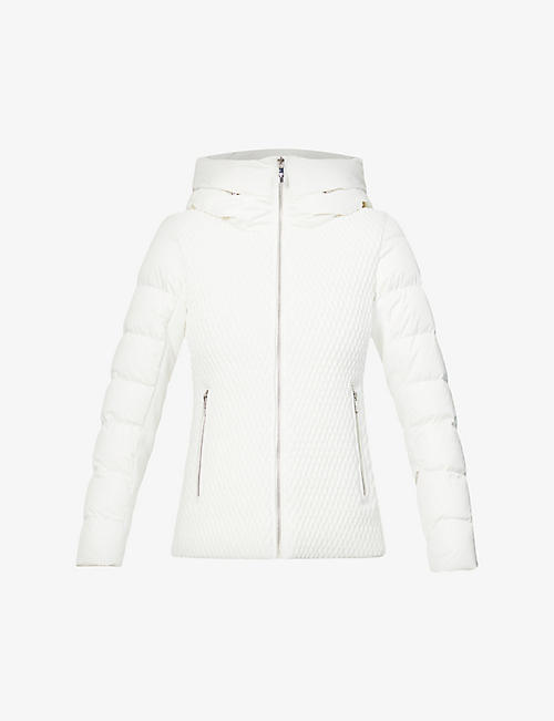 FUSALP: Roxane hooded shell jacket