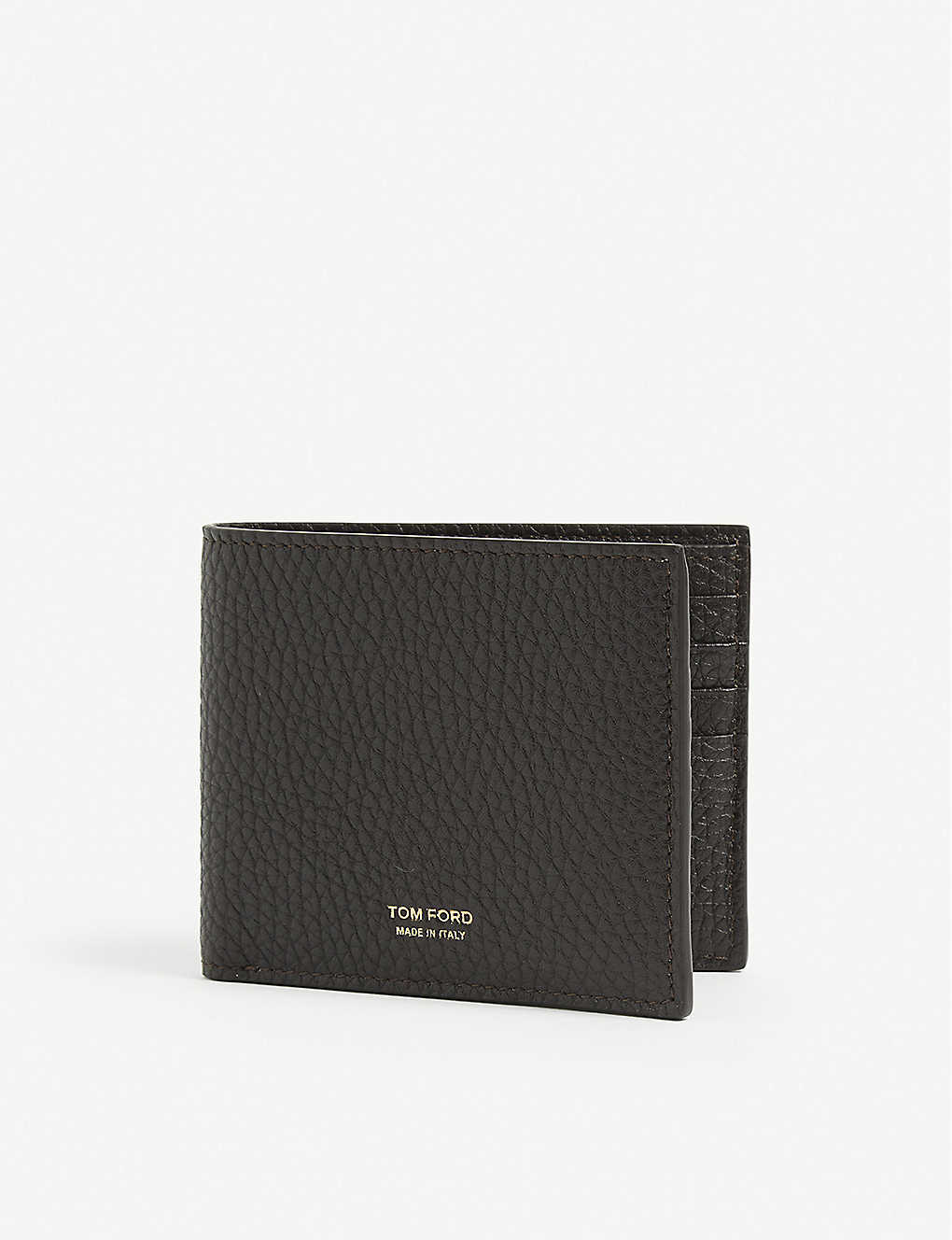 TOM FORD: Textured leather wallet
