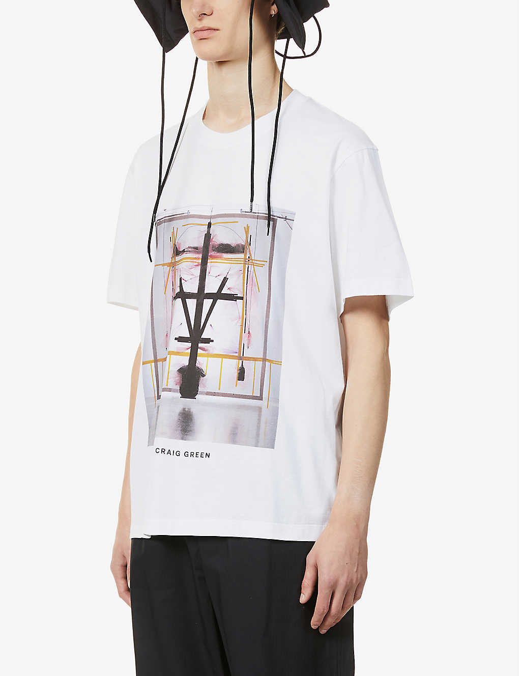 CRAIG GREEN: Campaign brand-print cotton T-shirt