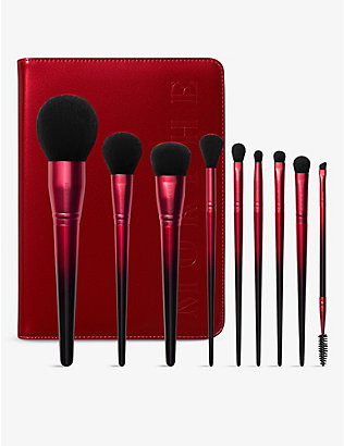 MORPHE: Royal Sweep 9-piece brush collection and case