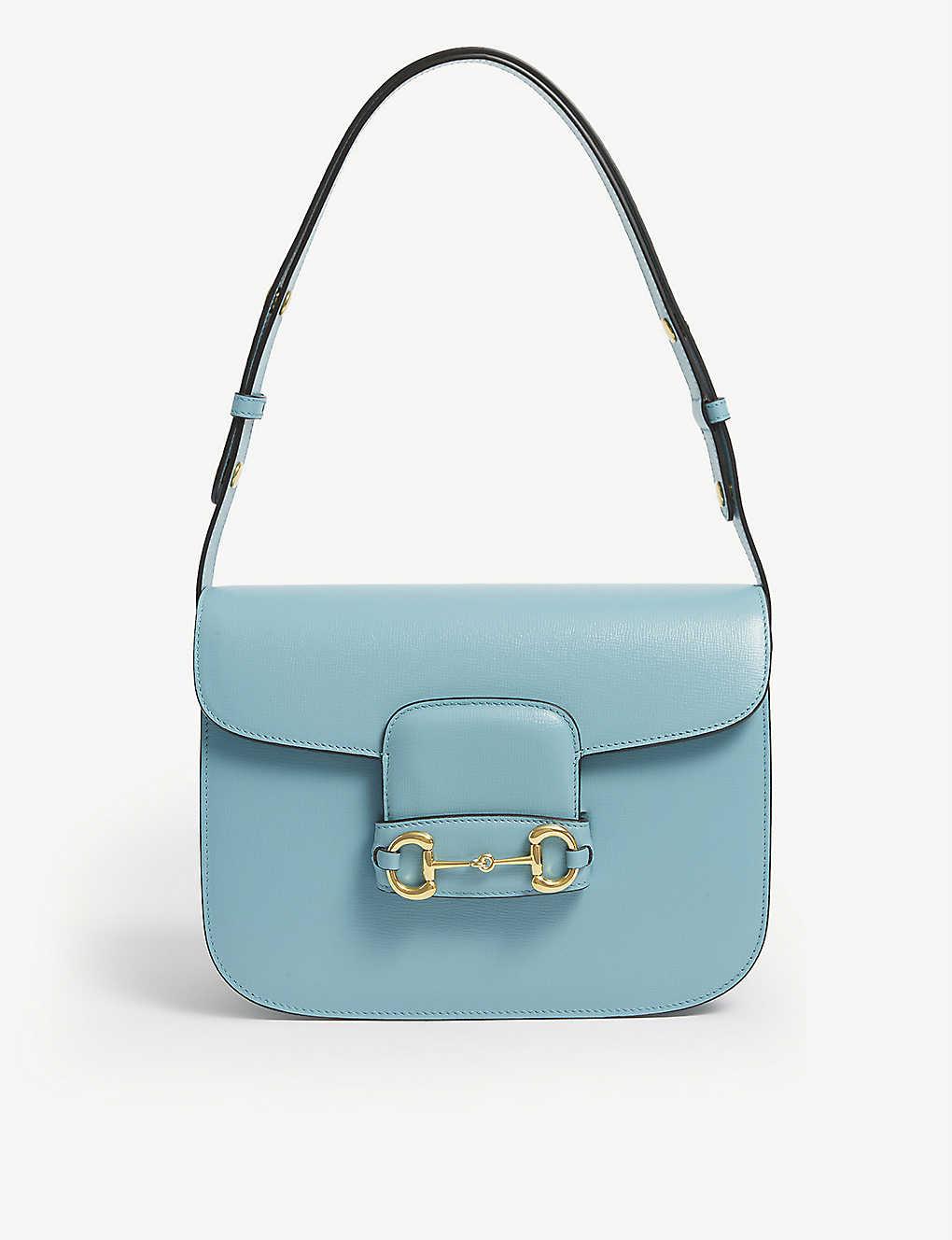 GUCCI: 1955 Horsebit leather shoulder bag